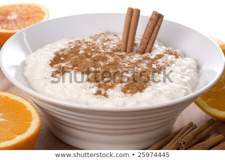 Orange and Cinnamon Rice Pudding Stock photo © monkey_business