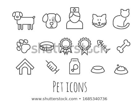 cute dog icons set i stock photo © sahua