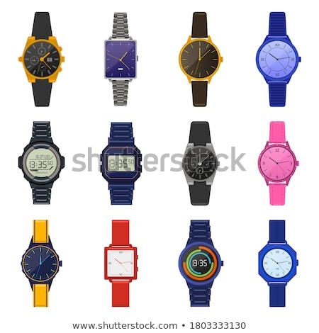 Smartwatch Digital Clock on White Stock photo © make