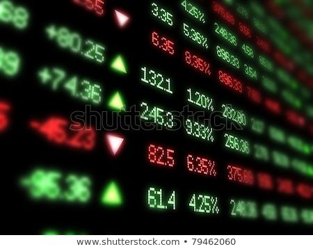 stocks shares tickers stock photo © danielgilbey