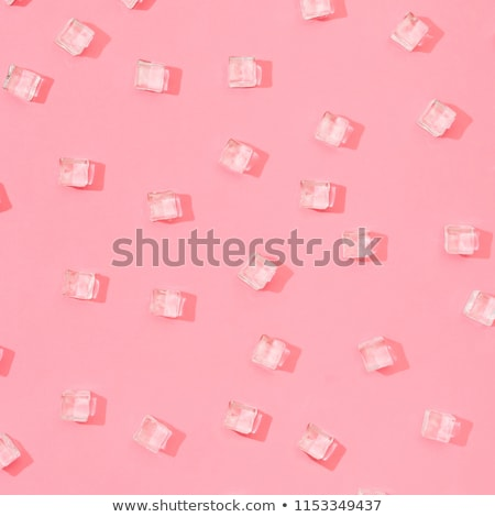 Background with ice cubes, cold and fresh concept Stock photo © JanPietruszka