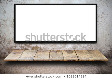 digital marketing on white brick wall stock photo © tashatuvango