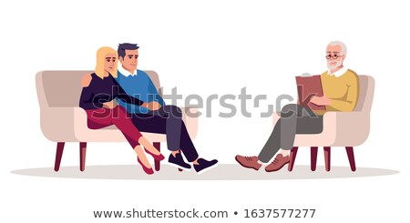 Premarital counseling Stock photo © georgemuresan