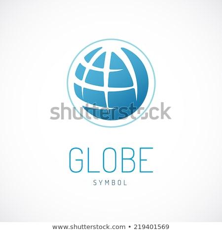 地球 · ロゴ · テンプレート · 世界中 · にログイン · ベクトル - ストックフォト © butenkow