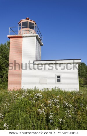 Horton Bluff Range Front Lighthouse Stock photo © benkrut