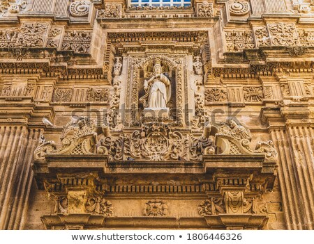 Basilica di Santa Agata cathedral of Gallipoli. Puglia, Italy. Stock photo © Photooiasson