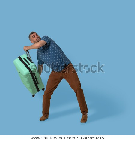 man throwing briefcase Stock photo © IS2