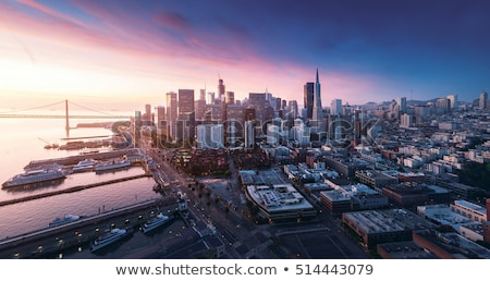 Stock photo: Silicon Valley Panorama