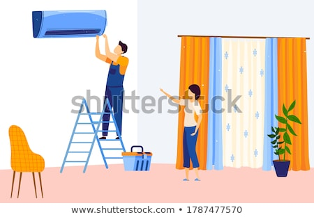 Stock photo: repairman