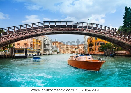 Accademia Bridge in Venice Stock photo © Givaga