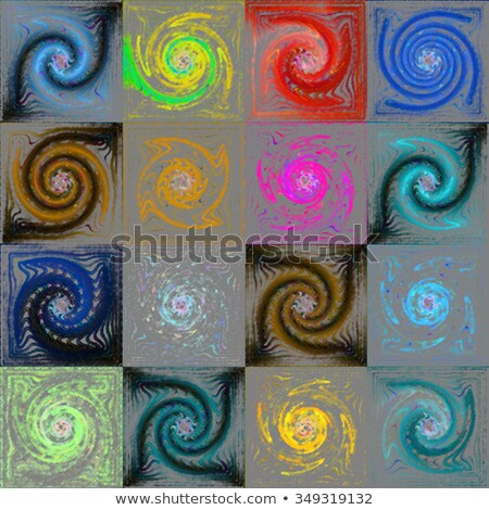 abstract fractal maelstrom Stock photo © zven0