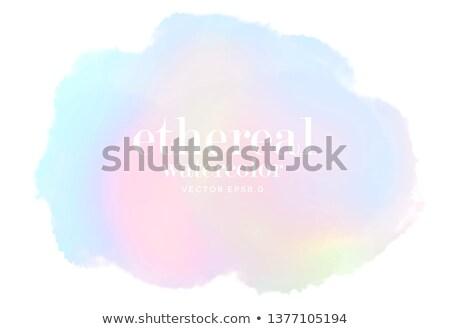 Foto stock: Arco · iris · tinta · boceto · galaxia · ilustración