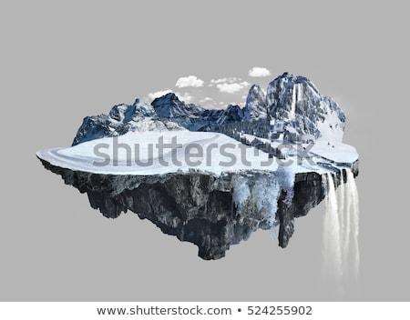 Kar taneleri Noel kış sezonu kar arka plan Stok fotoğraf © SArts