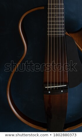 Guitare photo objet guitare acoustique Photo stock © CrackerClips
