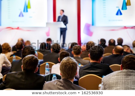 Business Meeting, Conference with Charts Diagrams Stock photo © robuart