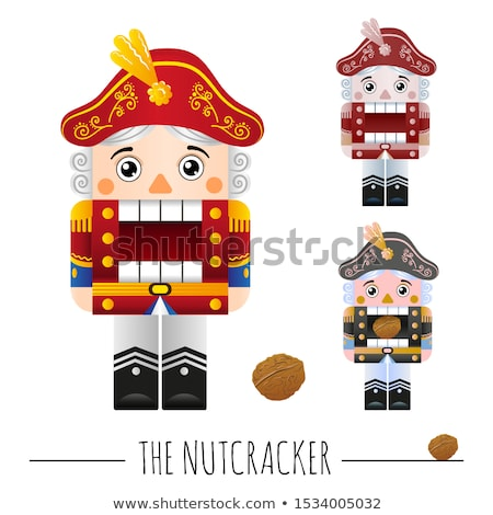 Fairytale characters on white background Stock photo © colematt