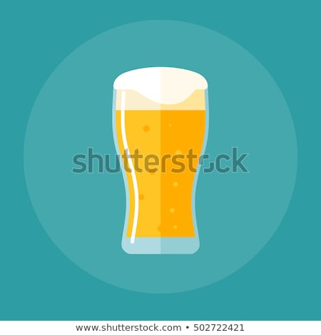 Tulip Beer Pint Stock photo © albund