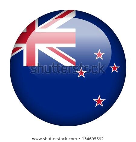 Etiqueta diseno bandera Nueva Zelandia ilustración fondo Foto stock © colematt