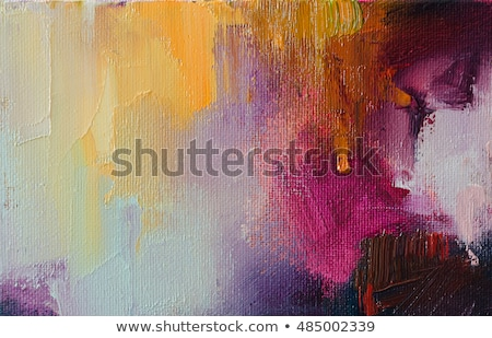 Mixing colors for painting Stock photo © pressmaster