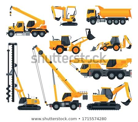 Voertuig engineering gebouw auto vector vervoer Stockfoto © robuart