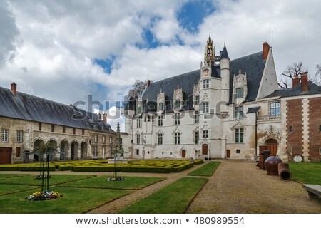 Former bishop's palace in Beauvais, France Stock photo © borisb17
