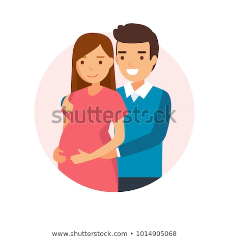 Pregnant woman and man starting a family. Stock photo © lichtmeister