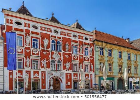 barocco · scultura · simboli · arti · salute · palazzo - foto d'archivio © borisb17