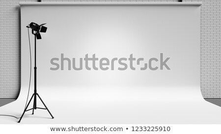 Work Tools Spotlighted on Black Background Illustration Stock photo © make