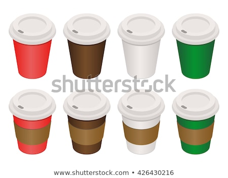 Café thé boire tasse paquet emballage Photo stock © pikepicture