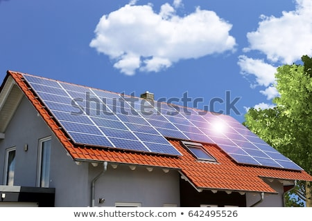 Solar energy collage Stock photo © ldambies