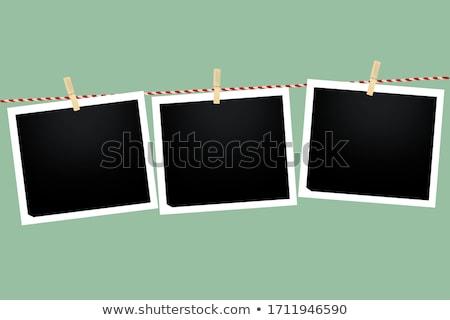 stock-vector-blank-photo-vector-illustration Stock photo © pressmaster