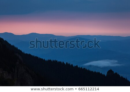 темно зловещий небе облака закат Сток-фото © iofoto