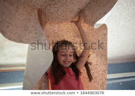 parents with children break wallpapers from  wall stock photo © Paha_L