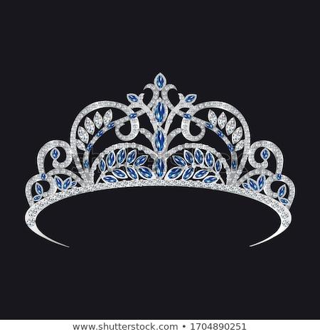 Diamante coroa ilustração abstrato projeto beleza Foto stock © get4net