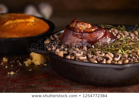 黑色 · 眼 · 豌豆 · 關閉 · 飲食 · 宏 - 商業照片 © illustrart