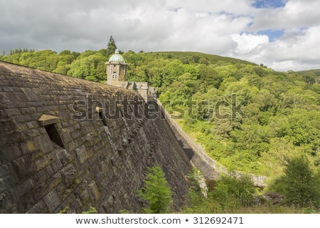 PenyGarreg reservoir, Elan Valley Wales UK. Stock photo © latent