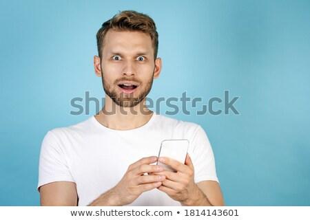 Guy wondering Stock photo © leeser