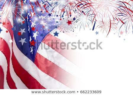 Zdjęcia stock: Fourth Of July