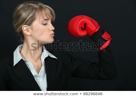 Business professional loving her new tough look Stock photo © photography33