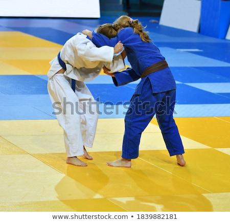 judoka on tatami Stock photo © photography33