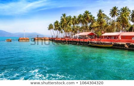Zeegezicht zee Thailand mistig hemel Stockfoto © PetrMalyshev