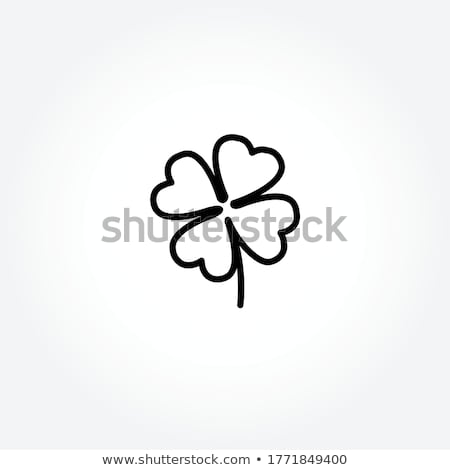 Cartoon Clover Leaf Stock photo © indiwarm