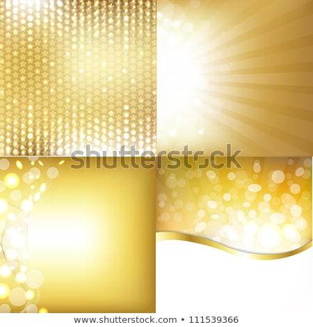 Bokeh sarok szett textúra terv szépség Stock fotó © barbaliss