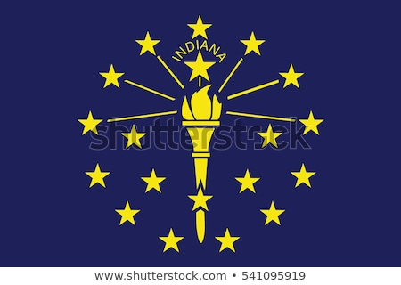 Flag of Indiana Stock photo © creisinger
