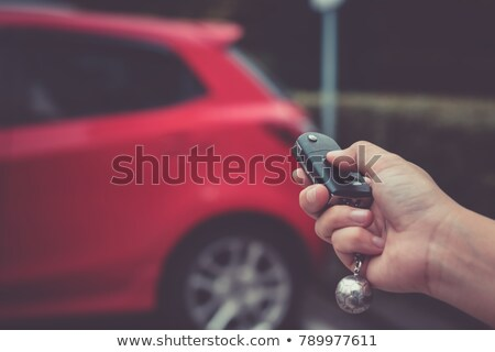 Stock photo: Car remote key