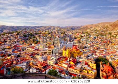Vivid colors of Guanajuato Mexico Stock photo © emattil