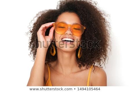 bella · giovani · dell'otturatore · occhiali · da · sole · iso - foto d'archivio © victoria_andreas