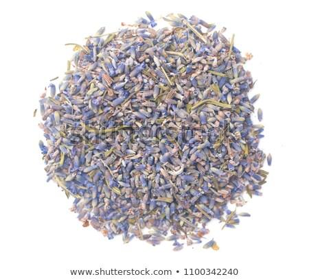 Photo stock: Lavande · sécher · herbes · contre · nature · maison