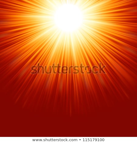 Abstract radiant star. EPS 8 Stock photo © beholdereye