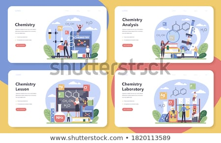 Laboratuvar deneyim çalışmak gözlük eğitim gelecek Stok fotoğraf © photography33